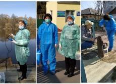 На Вінниччині фахівці Держпродспоживслужби відібрали проби з річки Південний Буг