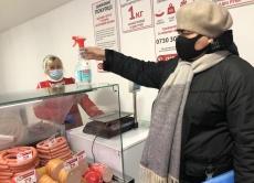 В Теплицькому районі порушення протиепідемічних вимог виявили лише в закладах торгівлі продовольчими товарами