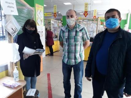 Фахівці Крижопільського міжрайонного управління Держпродспоживслужби у вересні перевірили 154 суб'єкти господарювання на предмет дотримання протиепідемічних вимог