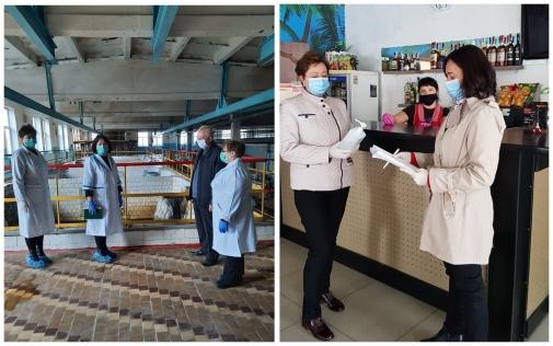 В Калинівському районі фахівці Держпродспоживслужби перевірили дотримання протиепідемічних вимог на 559 об'єктах, 15 % з яких працювали з порушеннями