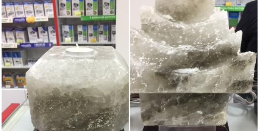 Спеціалісти відділу ринкового нагляду встановили невідповідності у соляних світильниках українського виробництва